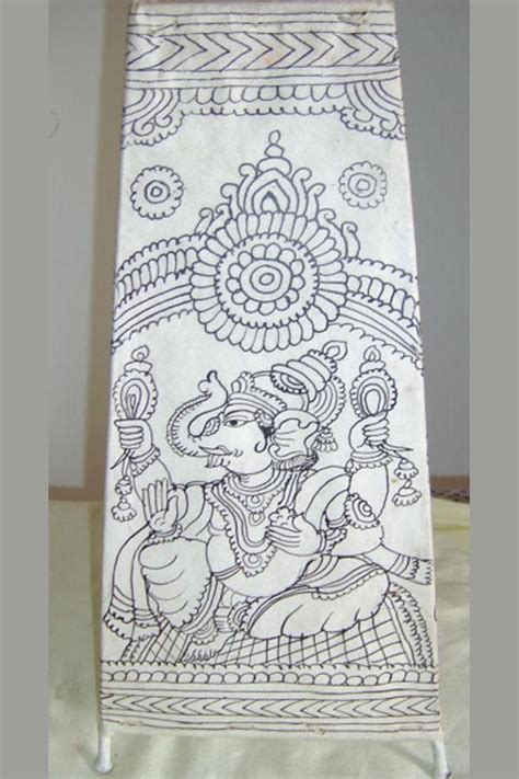 Mural Designs Outline by Monochrome Madhubani Search Indian Kalamkari Paintings Murals