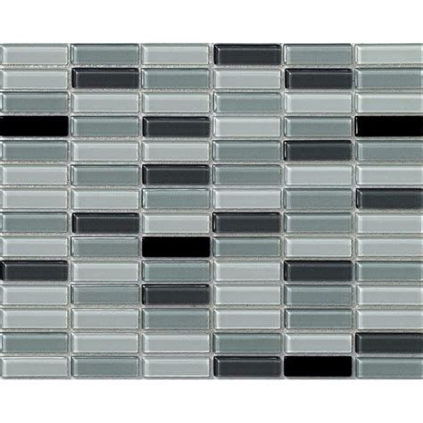 rectangular backsplash tile glass tile brick rectangle kitchen