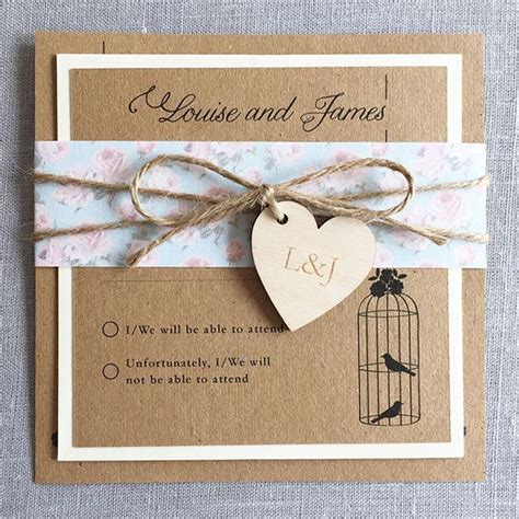 Unique Gifts Made From Wedding Invitation by Must Shabby Chic Wedding Invitations Hitched Co Uk