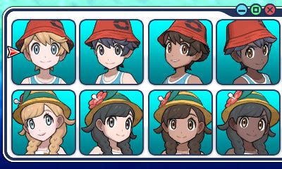 haircuts usum pokemon ultra sun ultra moon details screenshots new