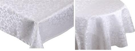 tischwäsche betz nappe jacquard linge de table dessin 1 couleur blanc