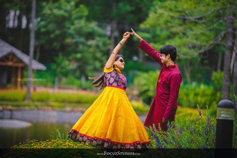 Post Wedding Couple Photoshoot in Yercaud Salem Tamilnadu