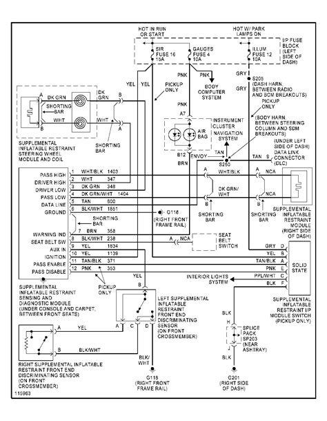 1997 chevy blazer trailer wiring diagram ewiring