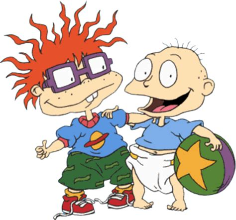 psd detail rugrats and chuckie official psds