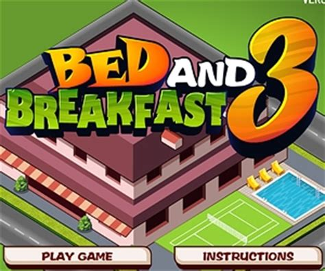 bed and breakfast game bed and breakfast 3 play online for free youdagames com