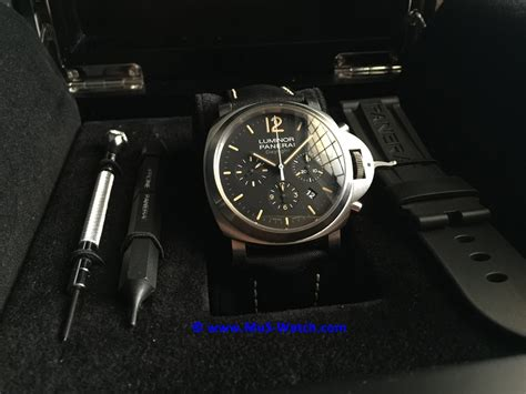 Jam Panerai Daylight Black sold panerai luminor chrono daylight black 44