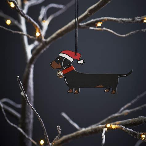 dachshund christmas tree decoration 163 7 95 mischievous