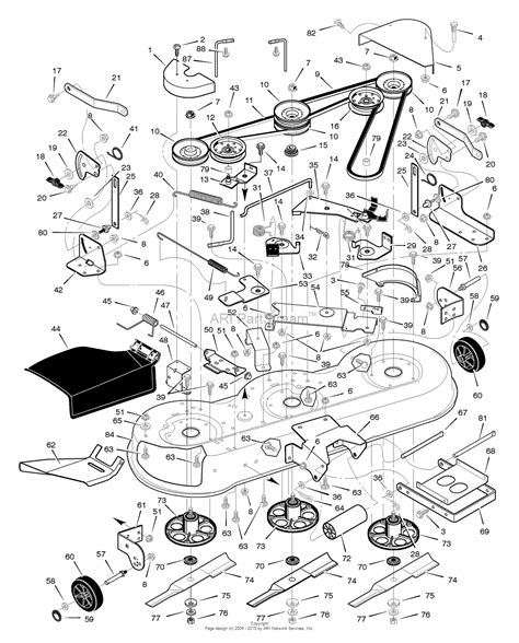 murray lawn tractor parts diagram murray 465600x48a lawn tractor 2005 parts diagram for