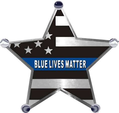 blue lives matter in the line of duty books thin blue line blue lives matter 5 point reflective