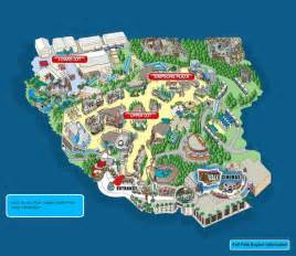 universal studios park map california 2014