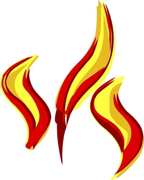 flames clipart flames clip free vector in open office drawing svg