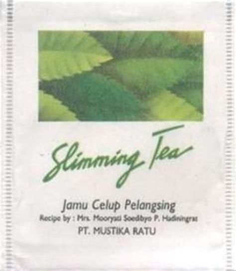 Pelangsing Mustika Ratu tea bag slimming tea jamu celup pelangsing mustika ratu