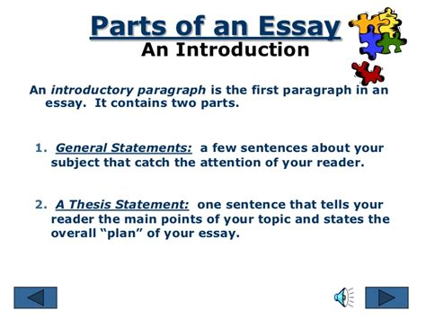 52 5 parts of an essay three main parts of an essay the five