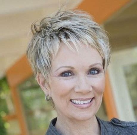 very short stacked pixie for over 50 short pixie hairstyles for women over 50
