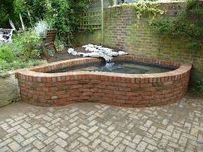 Circular Paver Patio Pond Construction Examples Women With Waders