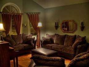 living room color schemes with brown furniture