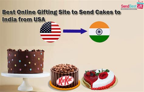 Best Online Gifting Site to Send Cakes to India from USA