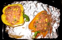 Paket Bundling Moiaa 4 X 200 Gr Cup Pudding 80 Ml Sendok peggy lman s sunday dinnerfeed southwest roasted stuffed peppers