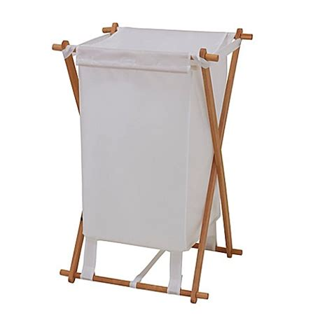 Household Essentials 174 Fir Wood X Frame Laundry Her X Frame Laundry