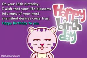 16th birthday quotes for birthday quotesgram