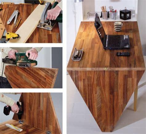 costruire scrivania legno 78 idee su scrivania montata su parete su