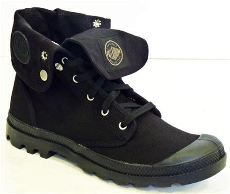 baggy boots palladium mens retro high top canvas boots