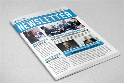 9 Printable Newsletter Templates Free Sle Exle Format Download Free Premium Templates Newsletter Templates For Drive