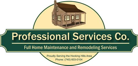 professional services co home maintenance remodeling