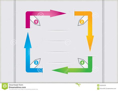 flowchart arrows flow chart template stock photos image 35294233