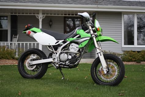Klx Supermoto by Modernizing My 2005 Klx 300 Supermoto Kawasaki Forums