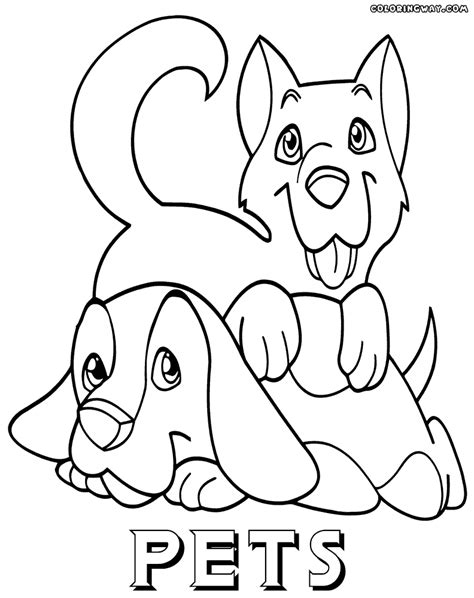 pet coloring pages pets coloring pages coloring pages to and print