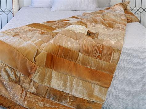 Velvet Patchwork - discontinued kevin obrien studio bedding velvet mosaic