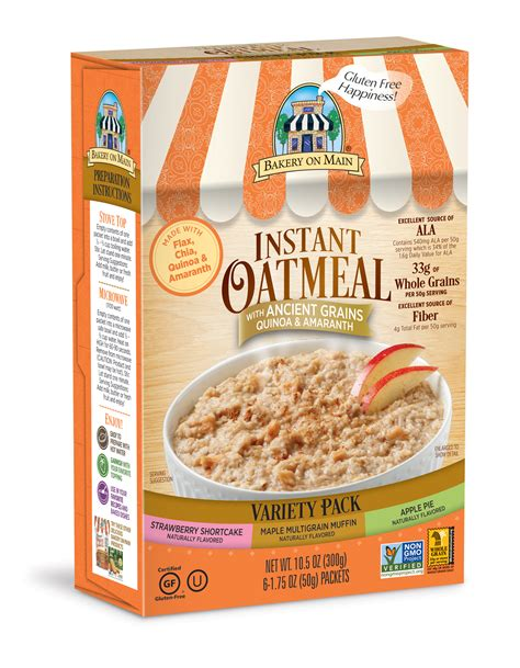 Instant Oatmeal by Instant Oatmeal Variety Pack