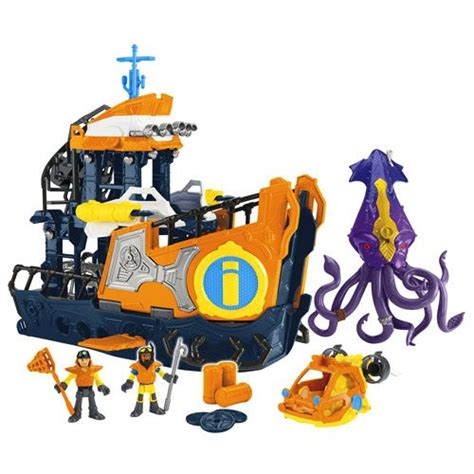 toy boat saying imaginext 174 deep sea mission command boat deep sea