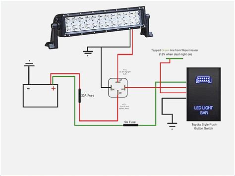 how to wire led lights led light bar wiring diagram moesappaloosas