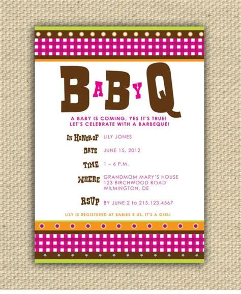 free printable bbq baby shower invitations diy printable baby bbq shower invitation babyq