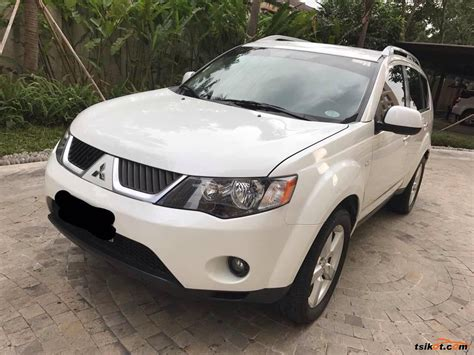 mitsubishi car 2008 mitsubishi outlander 2008 car for sale metro manila