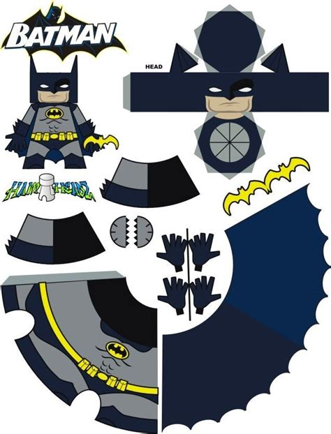 Batman Papercraft - batman free printable paper craft craft papercrafts