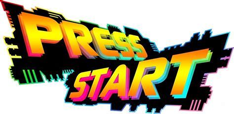 Press Start quot press start logo quot by press start redbubble