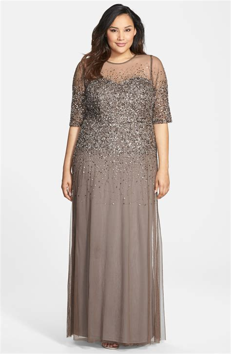 Dress Formal Big Size formal plus size dresses with sleeves style