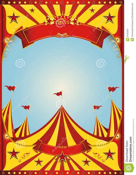sky circus big top stock image image 37053261