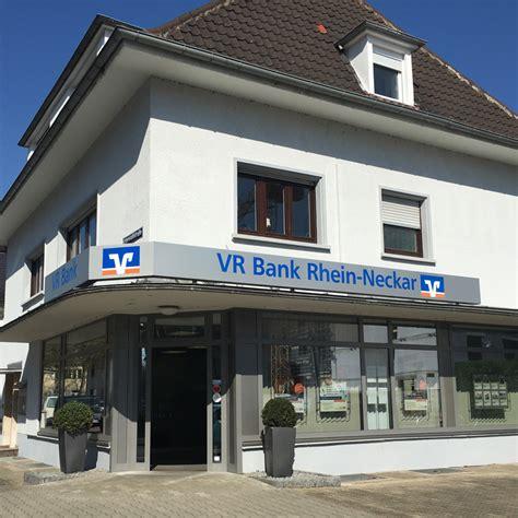 Vr Bank Rhein Neckar Eg Filiale Neuostheim In Mannheim