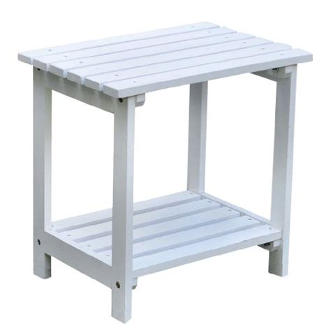 Small White Side Table by Outdoor Side Tables Archives Outdoor Living Shopping
