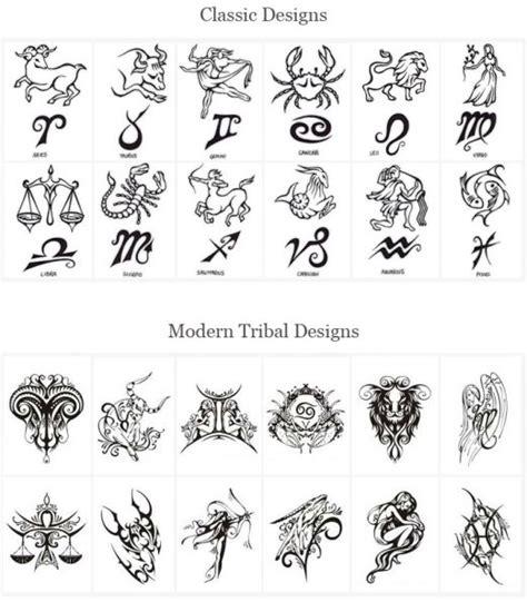 design zodiac astrological tatoos astrology tattoos designs back