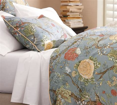 Duvet Cover Pottery Barn palore duvet cover sham blue pottery barn