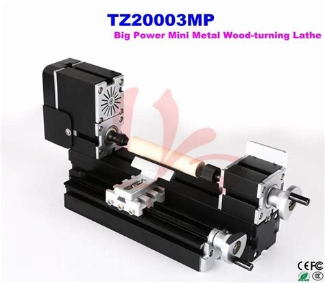 Mini Wood Turning Lathe Diy Wood Engraving Machine Cnc Tool 20000r Min big power mini metal wood turning lathe machine tz20003mp cutting tools for plastic