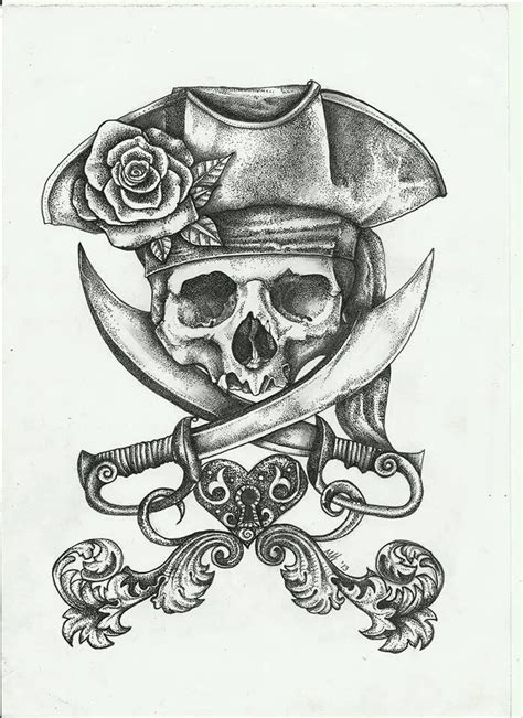 pirate skeleton sitting tattoo design pirate skull design your is your canvas