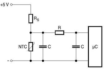 ntc thermistor linearization circuit ntc thermistors temperature sensor controller selection