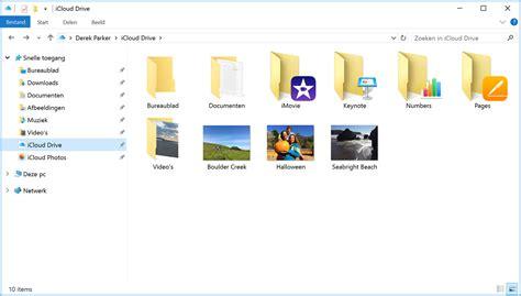layout op pc icloud voor windows configureren en gebruiken apple support