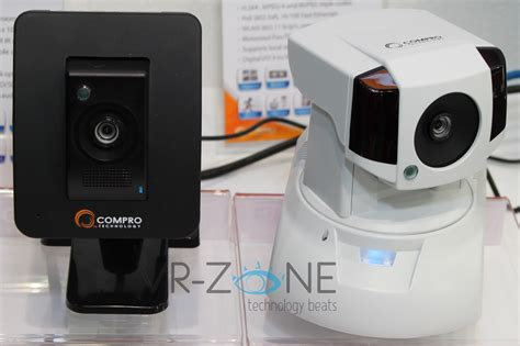 compro shows new easy to use home security ip cameras